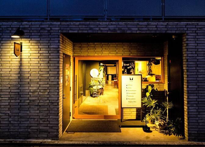 Dormitory Hostel near World Heritage 1 people