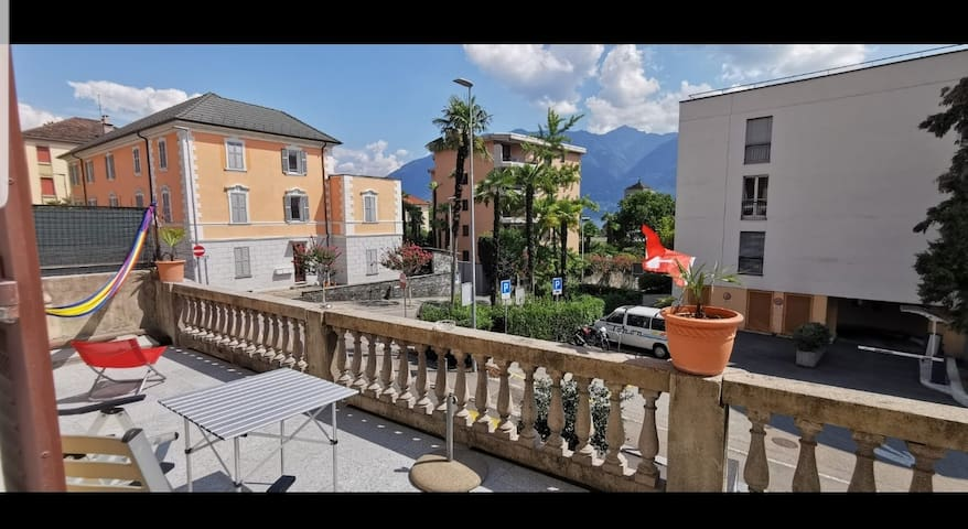 Wohnung in Locarno Muralto mit terrasse und ķüche