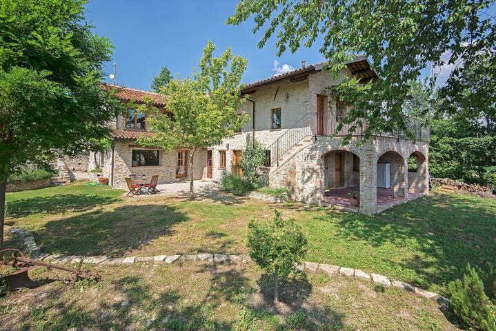 Villa de charme au cœur du Piémont - Marsaglia