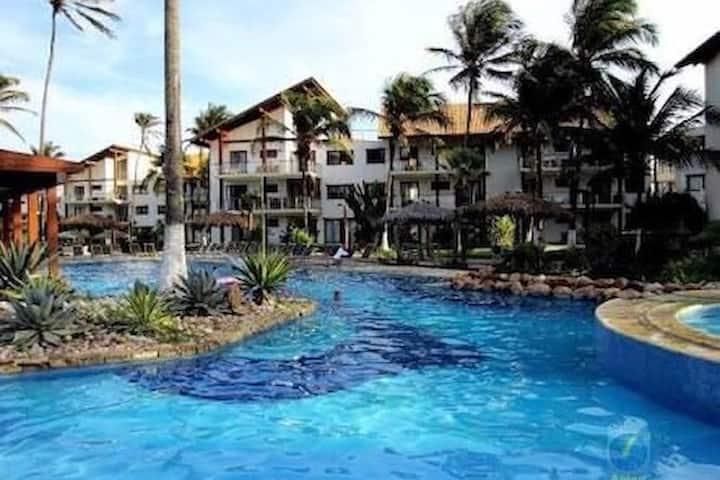 Taiba Beach Resort! Apto 2 quartos!