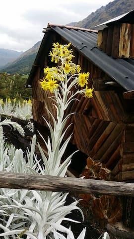 Casa Rústica  junto a Río Tomebamba - Cuenca - Blockhütte