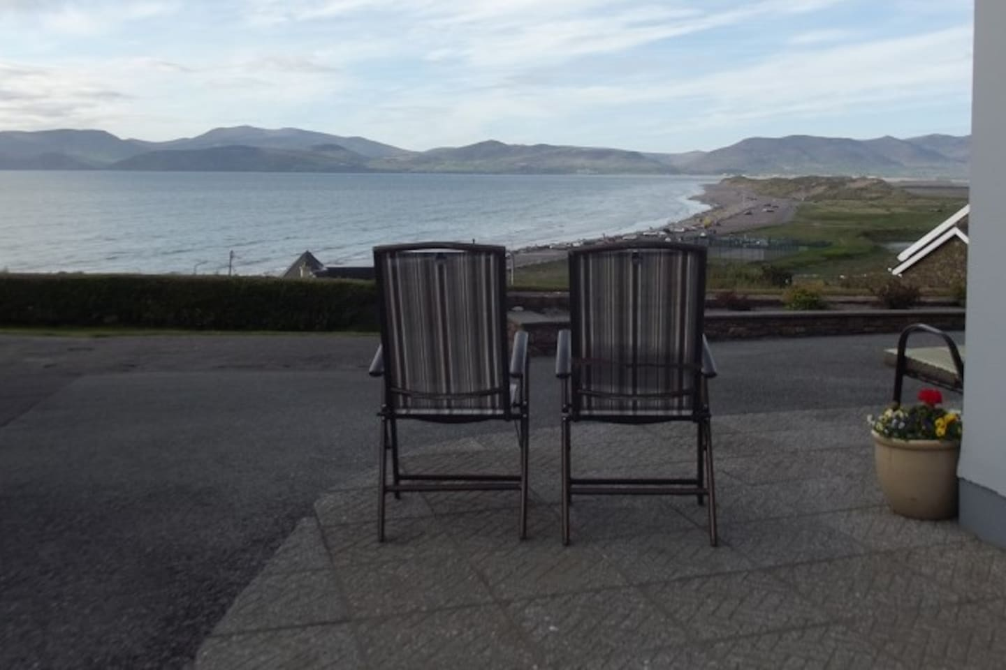 vIEW FROM DECK CHAIRS