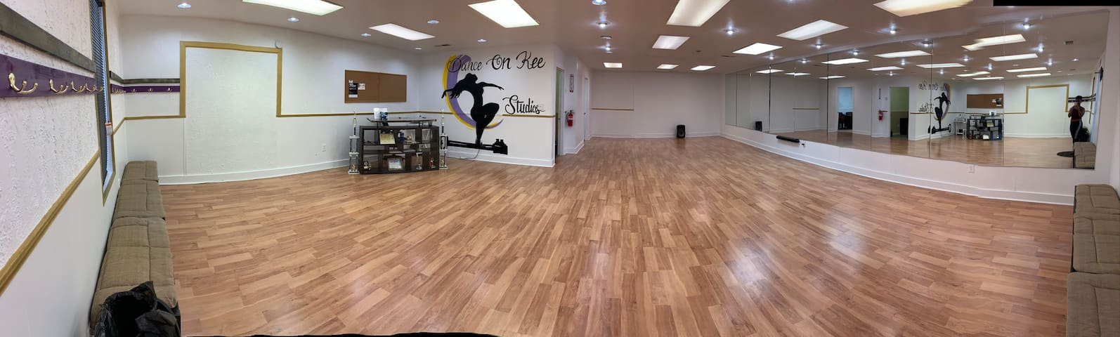 Dance Studio Rental (3 hrs plus 1 hour setup)