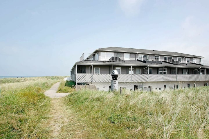 Modern Apartment in Lokken Jutland with Sea View