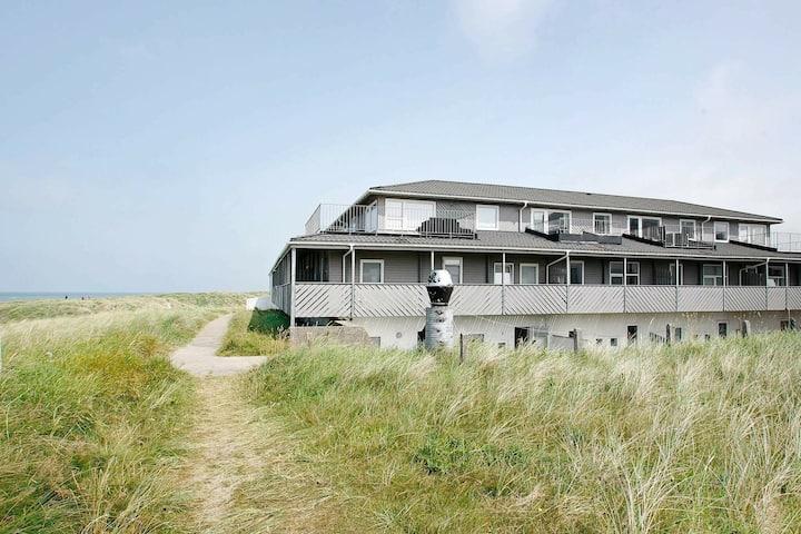 Appartement moderne à Lokken Jutland avec vue sur la mer