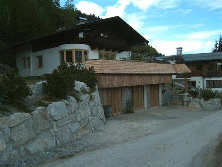 1 Garage kann dazu gemietet werden Sauna im KG incl.