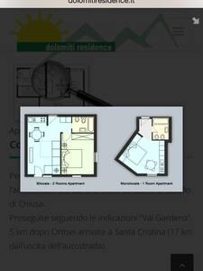Fantastico attico Santa Cristina - Santa Cristina Valgardena