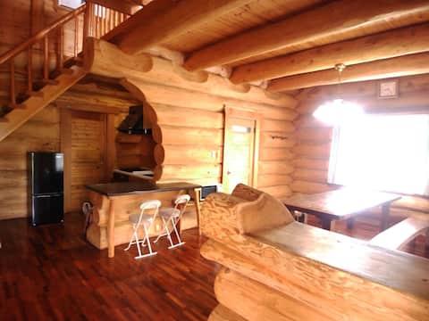 山宿 ひるがの高原ログコテージ 1日1組限定の宿。
