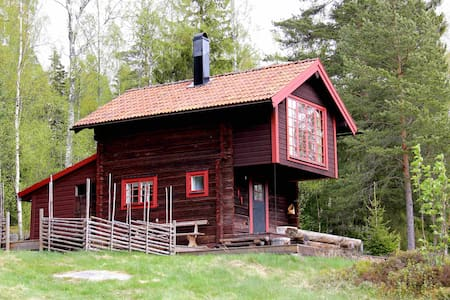 Charming log cabin with beautiful views - Siljansnäs - Kabin