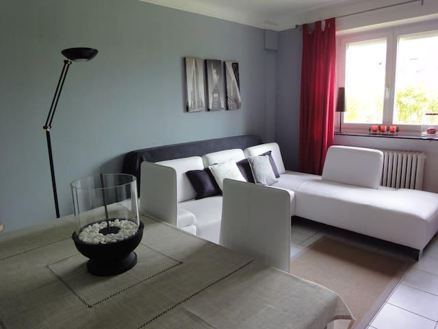 Agréable salon avec TV - ลักเซมเบิร์ก - อพาร์ทเมนท์