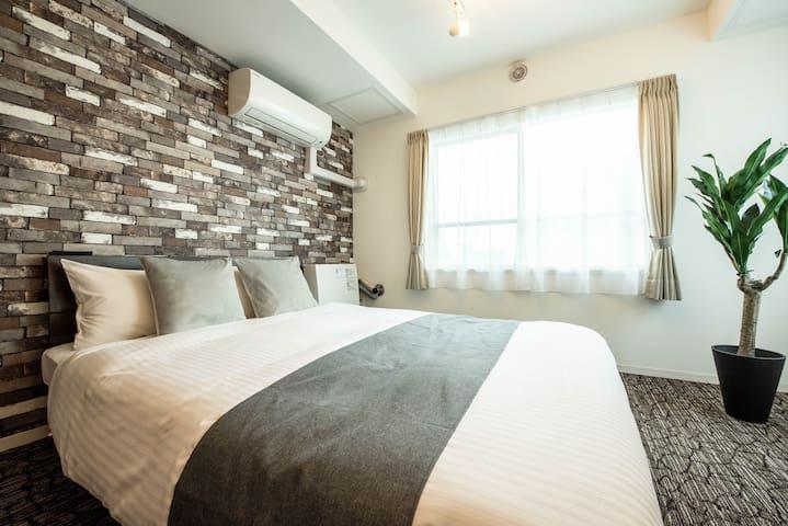 Residence Plus Sapporo 1 :  4ppl♪ Free WIFI