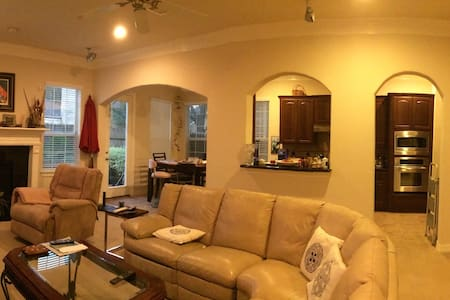 Beautiful community, welcoming home, private room