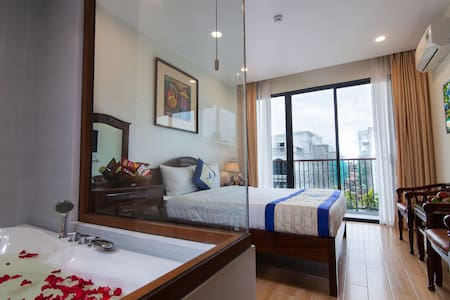 450m*from to the beach *private W tub, balcony