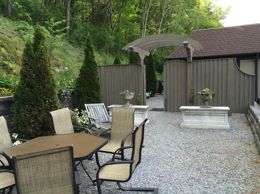Privacy fence and trellis