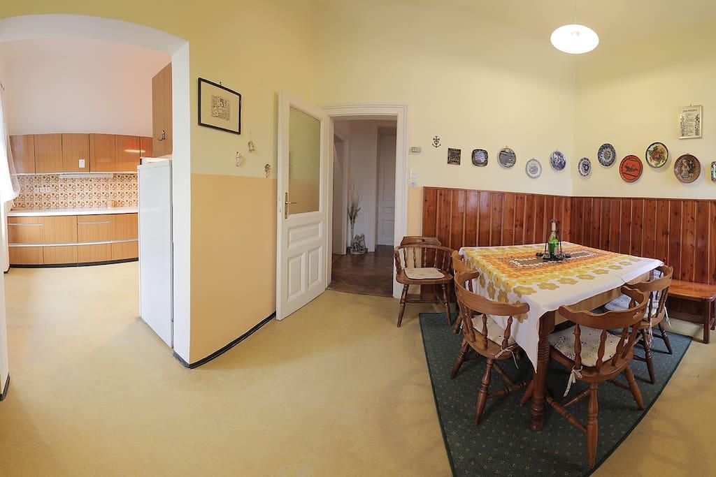 Dining room (22 m2).