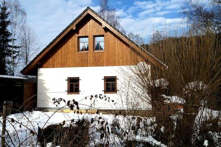 Chalupa na Šumavě, polosamota pod Kašperkem - Dlouhá Ves - Haus