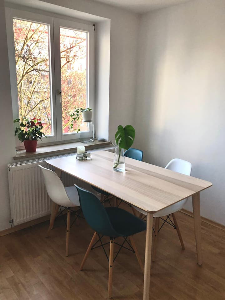 Cozy apartment close to the Isar!