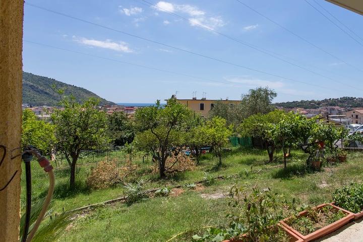 Garden house a Sapri
