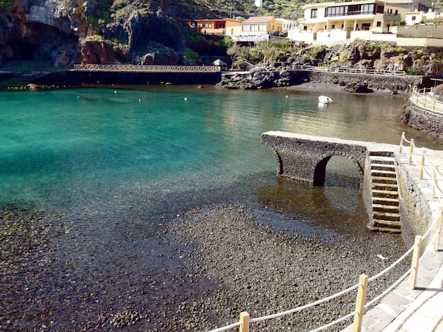 Casa con encanto al lado del mar - Valverde - Apartamento