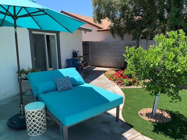 Day Bed to Enjoy the Az Sunshine!