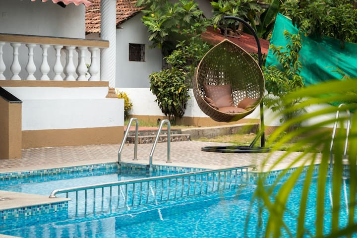 Goan House, 5 Bed with private pool, Vagator