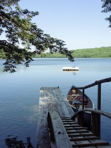 Hope retreat on pristine Hobb's pond