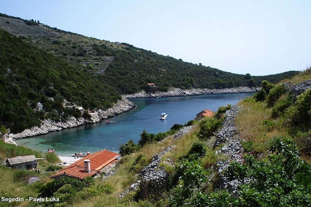 Views ower the bay of Pavja luka