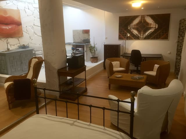 Studio 40m2 , WIFI,hidro-massage