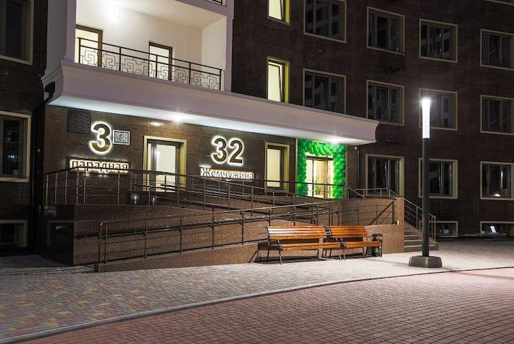 Апартаменты Аркадия Жемчужина с паркингом