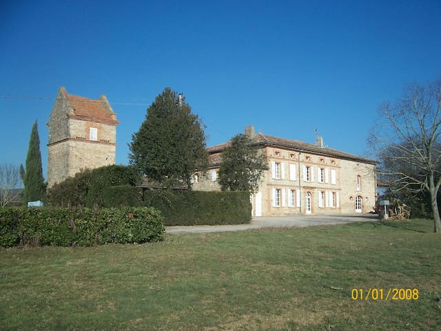 Gite en pleine nature Toulouse - GIROUSSENS - Rumah
