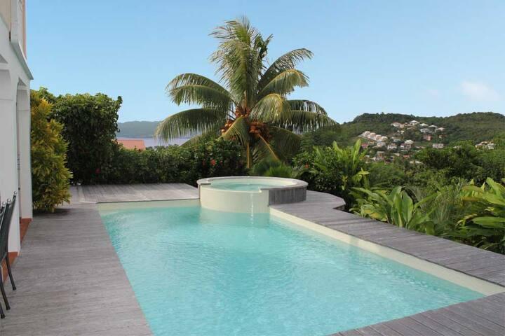 Villa de standing piscine et jacuzzi - Les Trois-Îlets - Villa