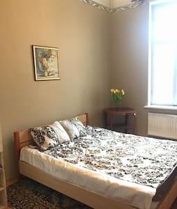Spacious, silent apartment in the centre of Riga - Ryga - Apartament