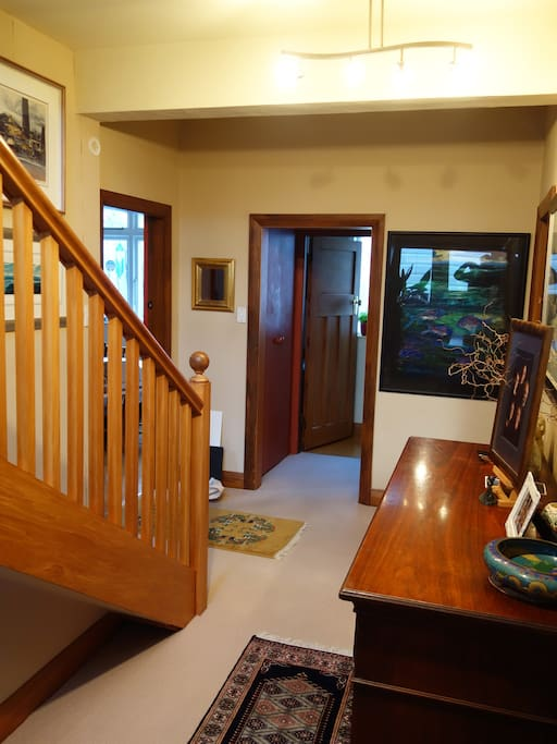 Entry way to house