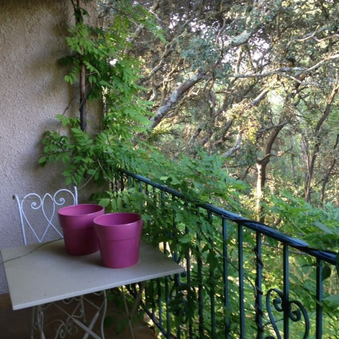 balcon pour vous seul