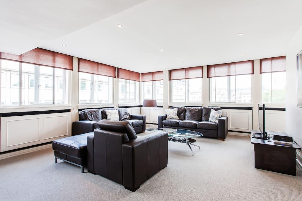 VERY big living room
