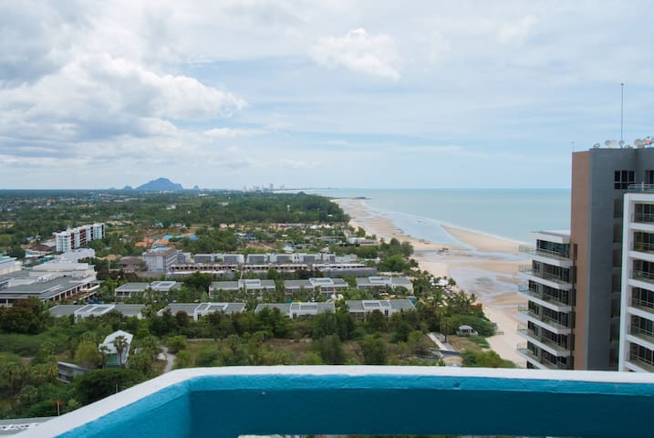 Beachfront condo, Hua Hin