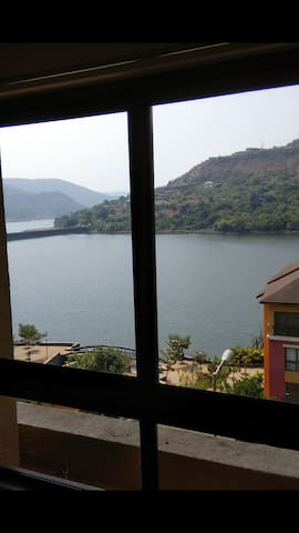 2BHK AirConditioned, Lake Facing  in Lavasa Centre
