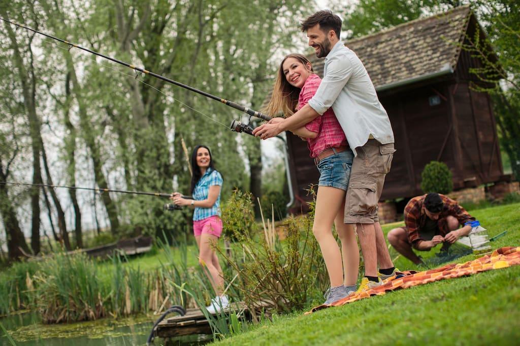 Camping Suza Baranje - fishing