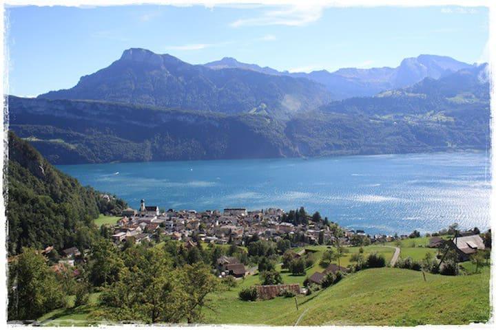 Ferienwohnung in Gersau mit traumhafter Aussicht