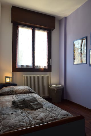 Bright and cozy single/double room - Vicenza - Daire