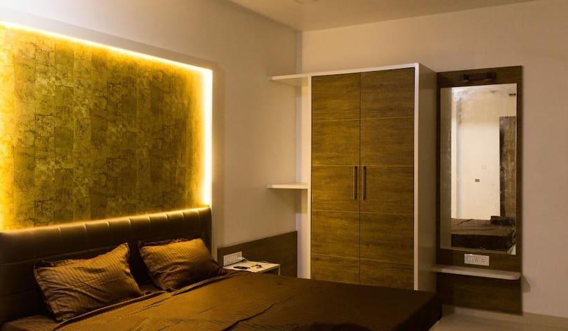 Deluxe Room in Riverside Twin Villa near Amgaon