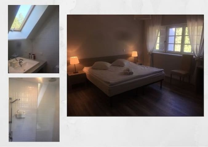 Cosy guest house near Ventspils Delux double room
