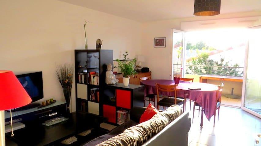 Confort, quiétude et bien-être à 2 pas de Bordeaux - Cadaujac - Apartment