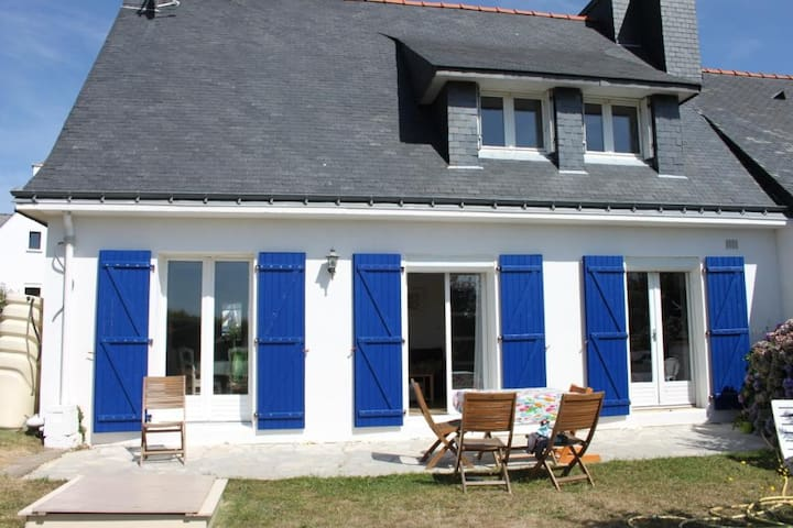 Maison familiale bretonne, proche mer