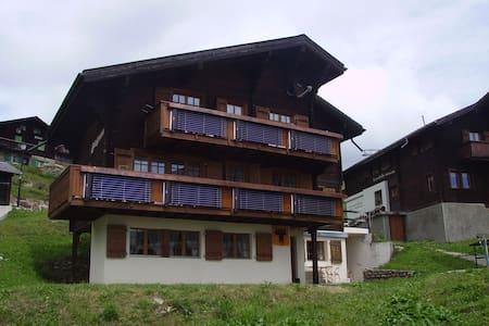 Logieren neben den Pisten auf 2000 m ü M - Bettmeralp - Wohnung