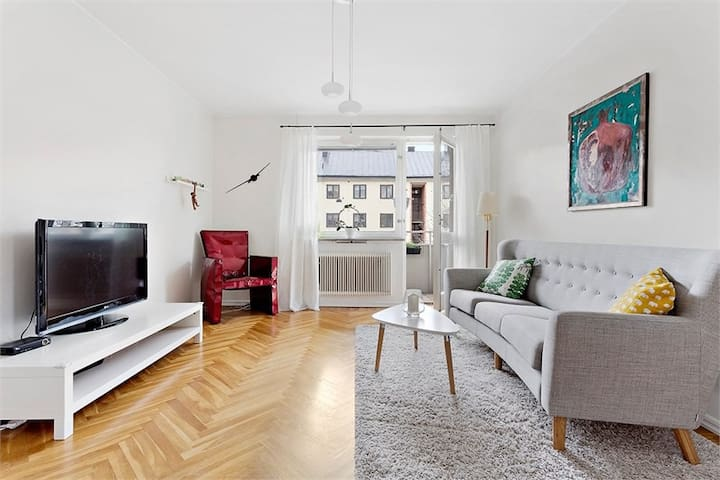 Large and cozy flat in Stockholm