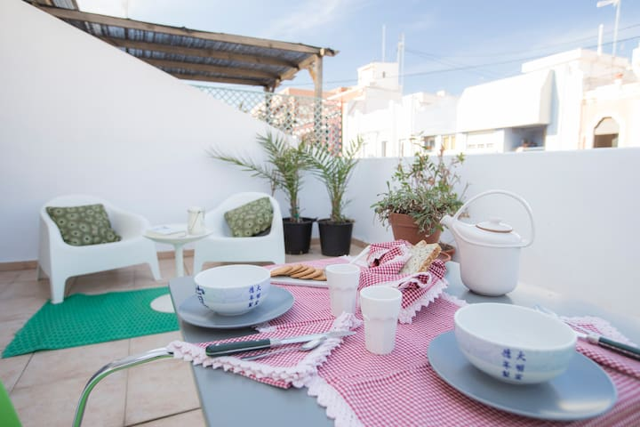 PENTHOUSE DUPLEX WITH TERRACE IN RUZAFA, WIFI - València