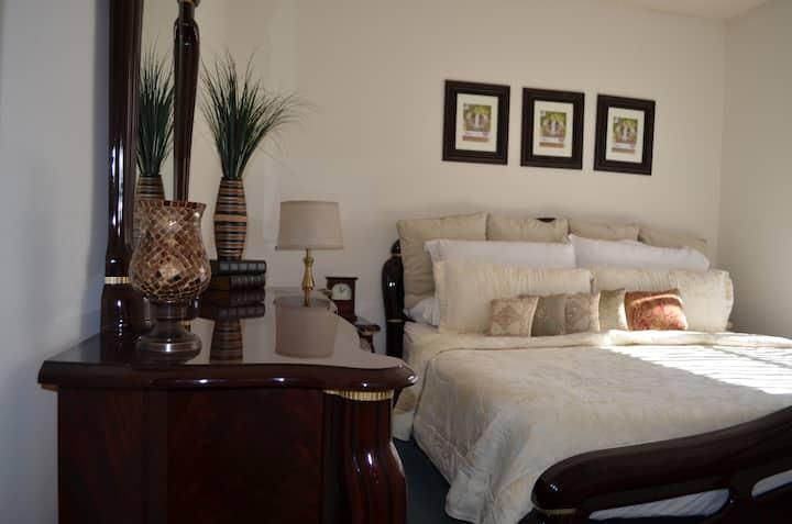 CAL KING - Mahogany Luxurious Pvt Bedroom