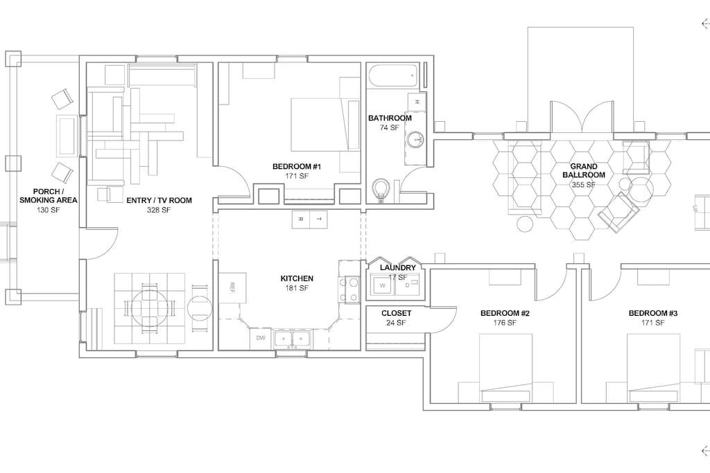 House floorplan.