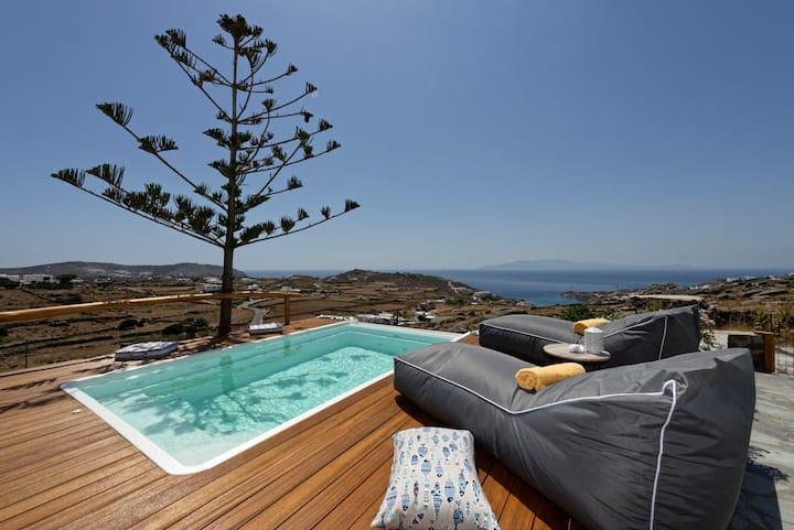 Agyra - House  near to Super Paradise beach!